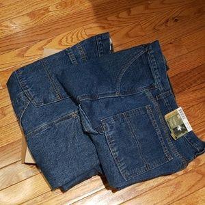 Faded Glory carpenter denim shorts size 34